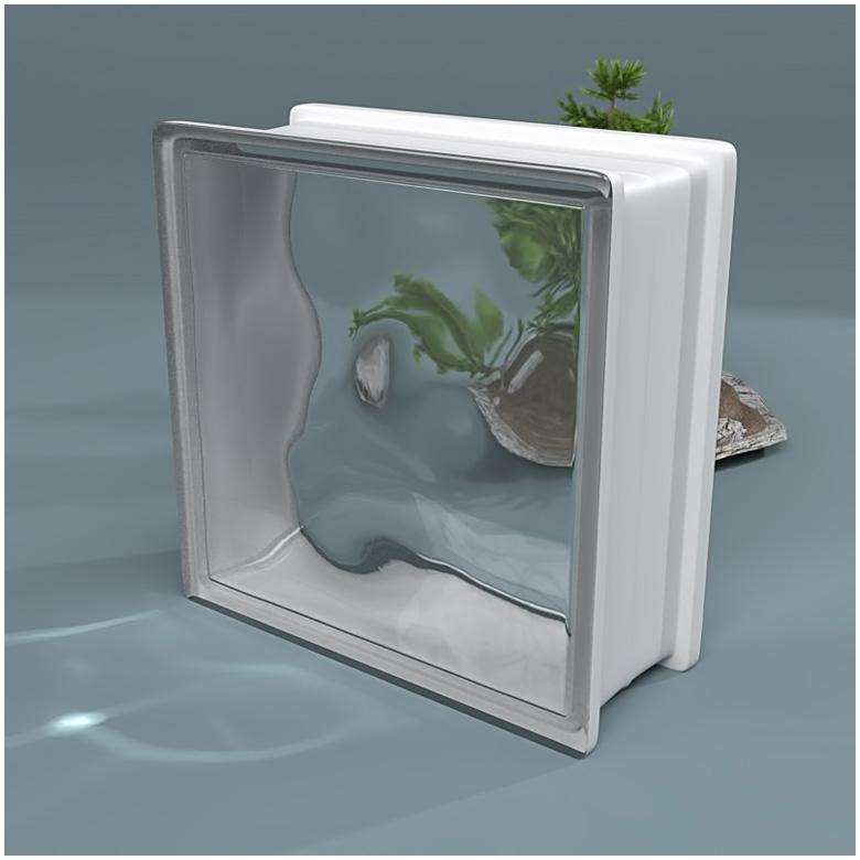 Glass Block Caustics