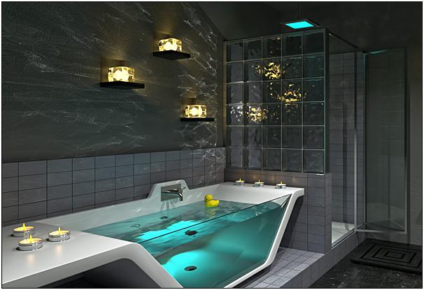 Small Bathroom With Bathtub Design