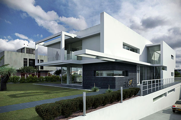 Villa PM by Architrend Architecture - Modelled using Sketchup